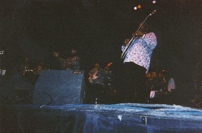 Johnny Long Playing Lead Alto Sax on tour with The Head Liner B.B. King and his expanded Horn Section