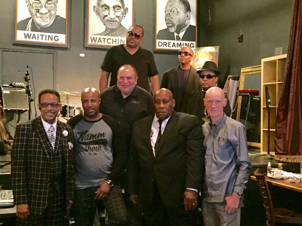 Curtis Pope (Trumpet/Band Leader), Johnny Long (Tenor Sax), Ronnie Hinton (Guitar), Kevin Walker (Bass), Kiggo Wellman (Drums), Elliott Levine (Keyboards), Winfield Parker (Vocals) -- Live at Busboy and Poets for Wilson Pickett's Book Signing