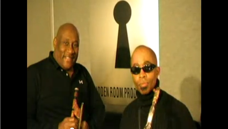 Curtis Pope (Trumpet/Band Director) for the Midnight Movers and Johnny Long (Tenor Sax) in the Studio.  Special Thanks to  Curtis pope for giving me the Lead Tenor Sax  spot for Wilson Pickett and The Midnight Movers Horn Section, and all of that Great Soul Music we played together Worldwide., making people happy.