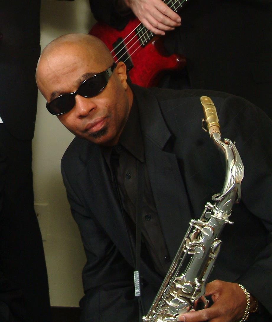 Johnny Long Playing Tenor Sax