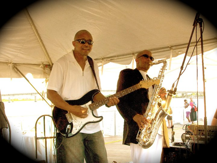 Johnny Long playing Tenor Sax with Mike 'Zakee' Jones