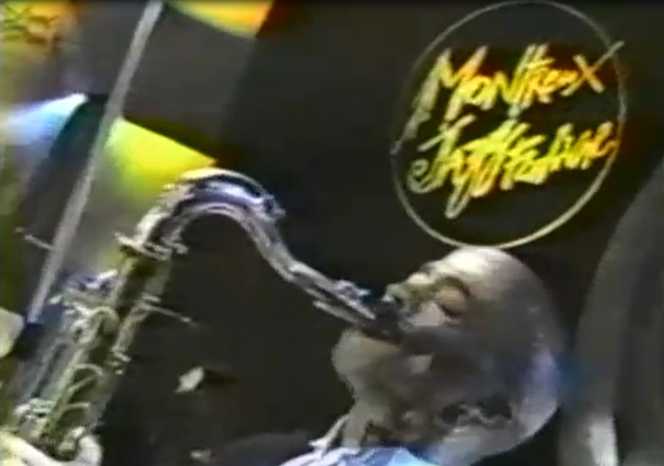 Johnny Long playing Tenor Sax with Wilson Pickett, Curtis Pope and the Midnight Movers.