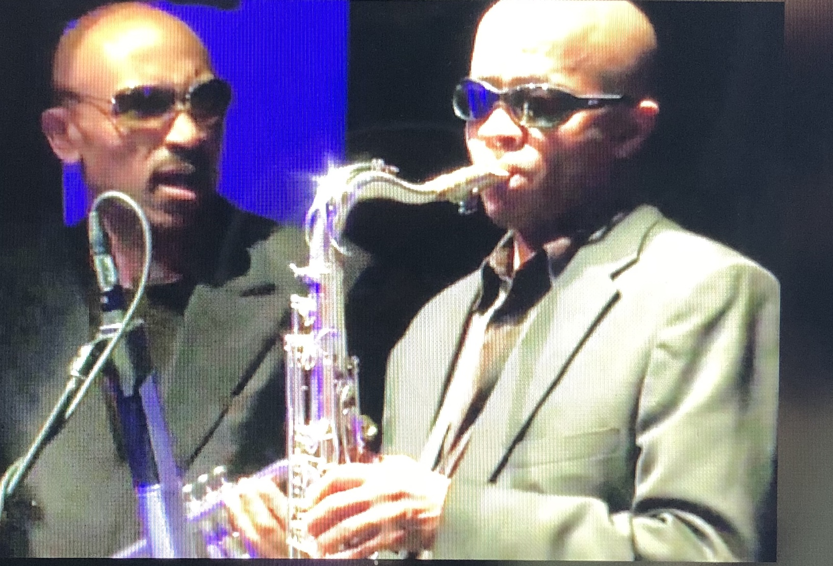 Johnny Long (Tenor Sax) and Buzzy Pindell (Trumpet)